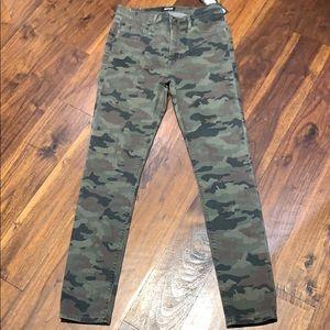 Hudson camo jeans size 28